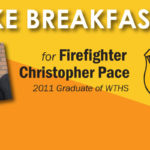Photo of Chris Pace and WFD Logo